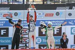 Podio: Santiago Mangoni, Laboritto Jrs Torino, Josito di Palma, CAR Racing Torino, Agustin Canapino, Jet Racing Chevrolet