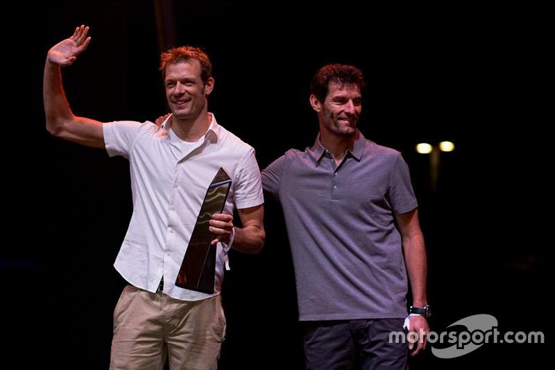 Alexander Wurz, Toyota Racing, und Mark Webber, Porsche Team