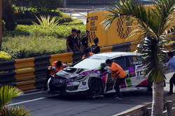 Accidente de Michael Choi, SEAT Leon, Prince Racing Hong Kong