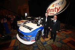 2015 Xfinity Чемпіон серії Кріс Бюшер з Jack Roush