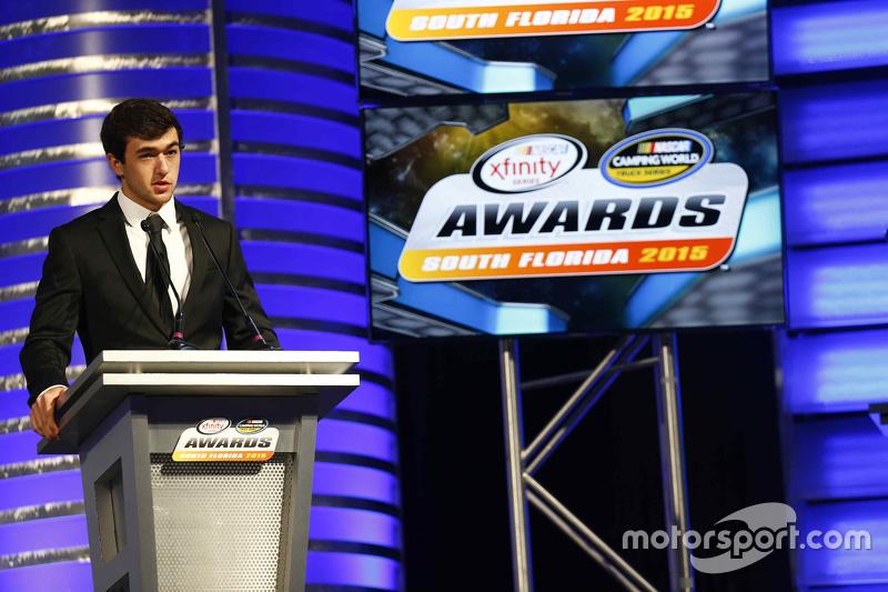 Чейз Елліот, Most Popular Driver Award, NASCAR Xfinity Series