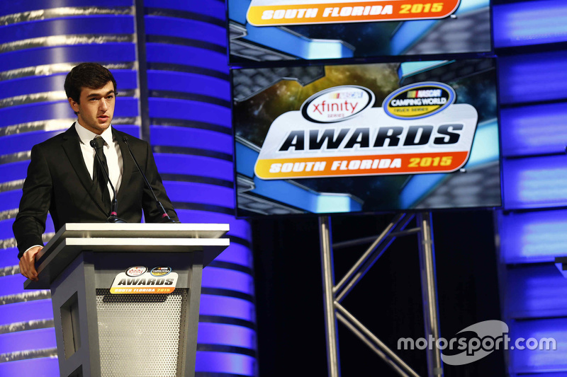 Чейз Елліот, Most Popular Driver Award, NASCAR Xfinity Series