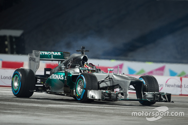 Паскаль Верляйн в Mercedes AMG F1