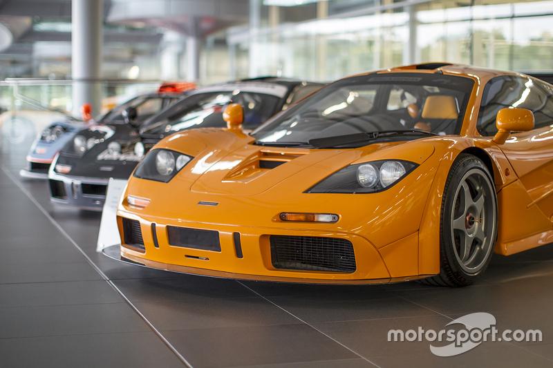 McLaren F1s at the Technology Center