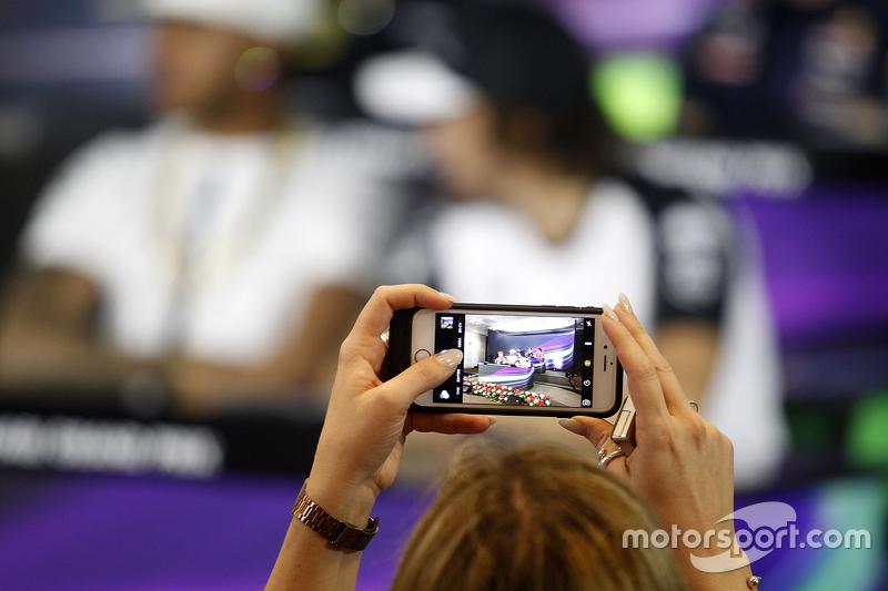 Die FIA-Pressekonferenz