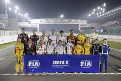 WTCC 2015赛季季末车手合影