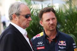 Jérome Stoll, Renault Sport F1 Presidente con Christian Horner, jefe de equipo de carreras Red Bull
