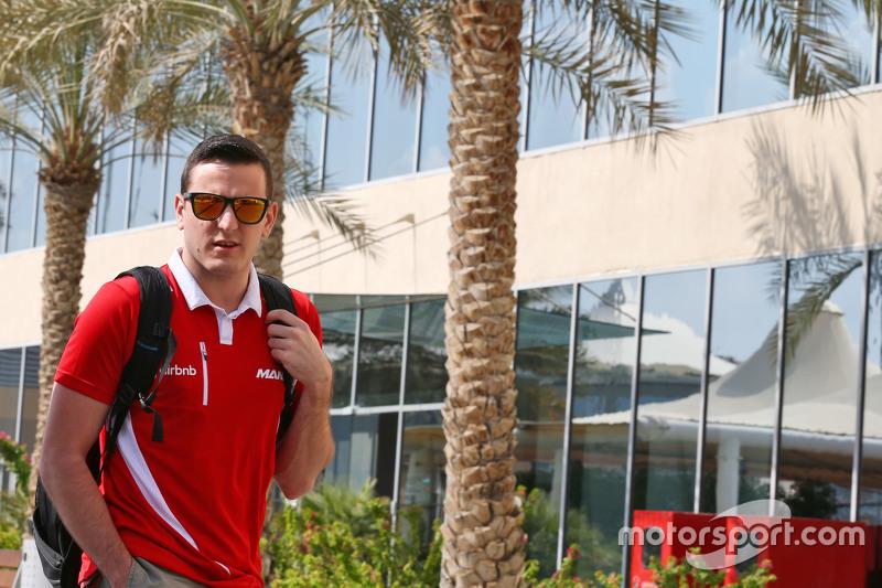 Fabio Leimer, Pilote d'essais et de réserve Manor Marussia F1 Team