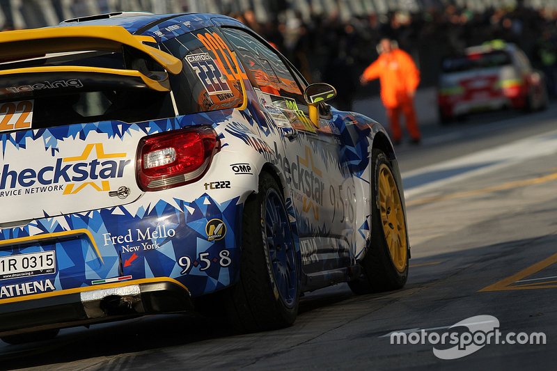 Tony Cairoli und Matteo Romano, Citroën DS3