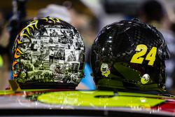 Helmets for Jeff Gordon, Hendrick Motorsports Chevrolet