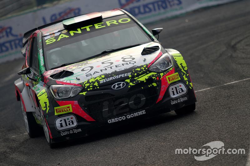 Alessandro Bosca und Roberto Aresca, Hyundai i20