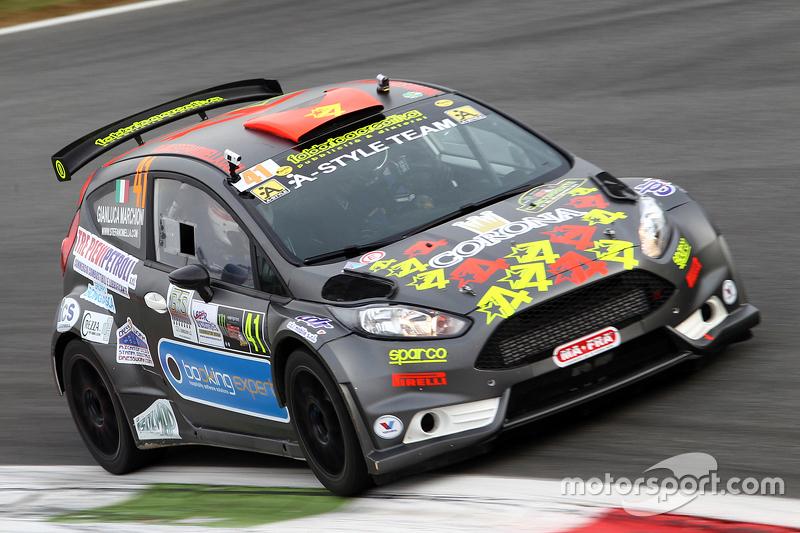 Stefano Mella und Gianluca Marchioni, Ford Fiesta