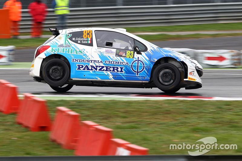 Massimo Colombo und Matteo Sala, Peugeot 207