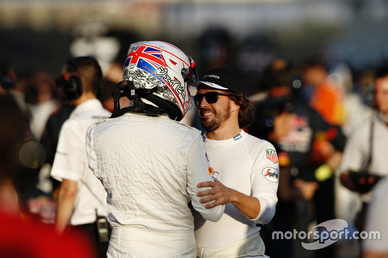 Jenson Button y Fernando Alonso, McLaren MP4-30