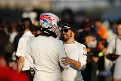 Jenson Button and Fernando Alonso, McLaren MP4-30