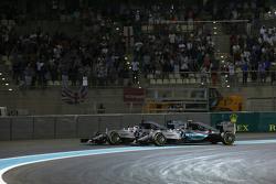 Nico Rosberg en Lewis Hamilton, Mercedes AMG F1 W06