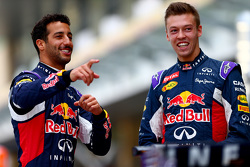 Daniel Ricciardo and Daniil Kyvat, Red Bull Racing