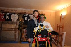 Romain Grosjean et Philippe Da Silva