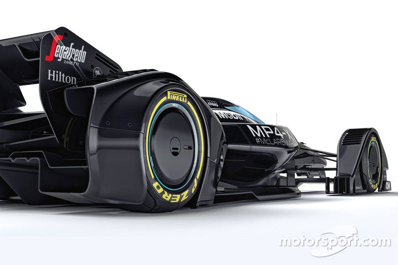 Концепт McLaren MP4-X (2015)