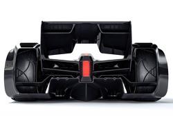 El McLaren MP4-X Concepto