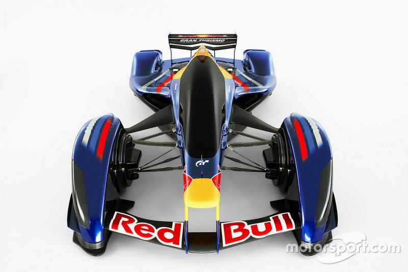 Red Bull X2010 voor Gran Turismo