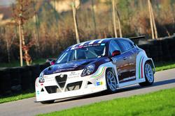 Alfa Romeo Giulietta TCR beim Testen