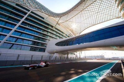 Essais privés de décembre à Abu Dhabi