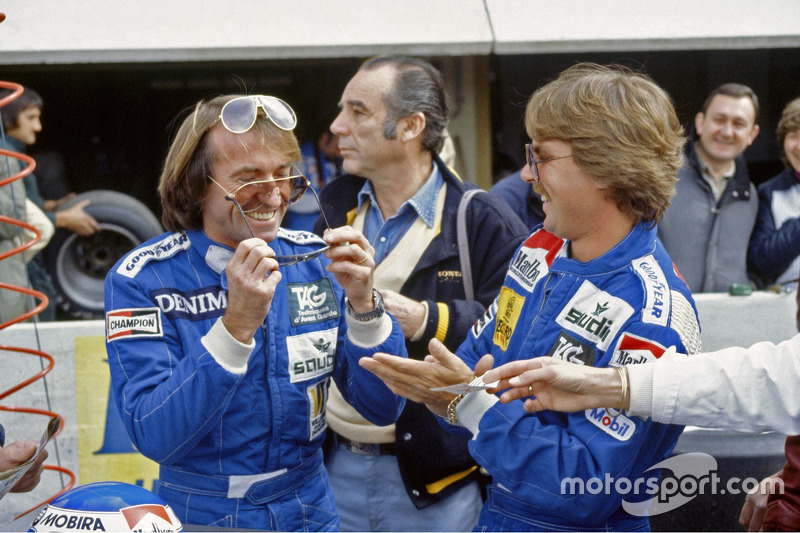 Jacques Laffite y Keke Rosberg, Williams
