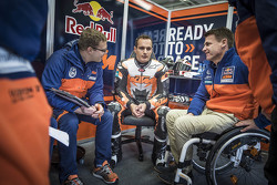 Sebastian Risse, Alex Hofmann e Pit Beirer, Capo di KTM Motorsport