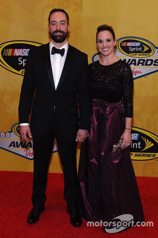Пол Менард, Річард Чілдресс Racing Chevrolet та wife Jennifer