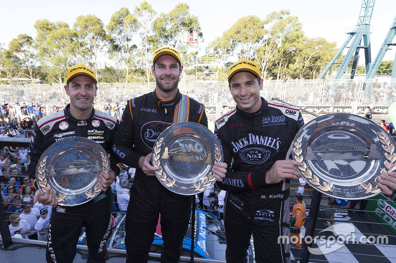 Podium: 1. Shane van Gisbergen, Tekno Autosports, Holden; 2. Jamie Whincup, Triple Eight Race Engine