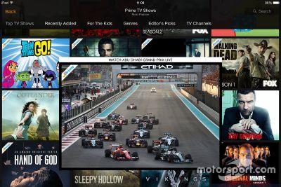 F1 op Amazon