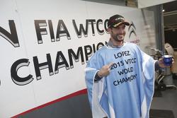 Campeón del Mundo del WTCC 2015 José María López, Citroën World Touring Car team