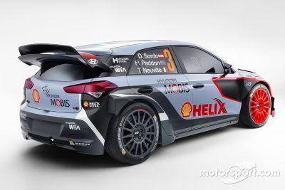 2016 Hyundai i20 WRC Presentatie
