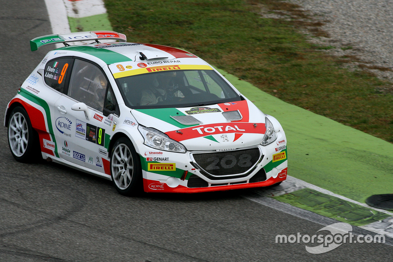 Paolo Andreucci and Anna Andreucci, Peugeot 208 T17