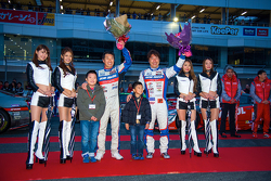 Drivers celebrate at Nismo Festival