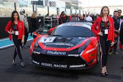#11 Kessel Racing Ferrari 458 Italia: Давіде Рігон, Andrea Piccini, Michael Broniszewski
