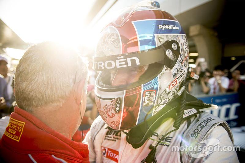 Race winner Yvan Muller, Citroën World Touring Car team