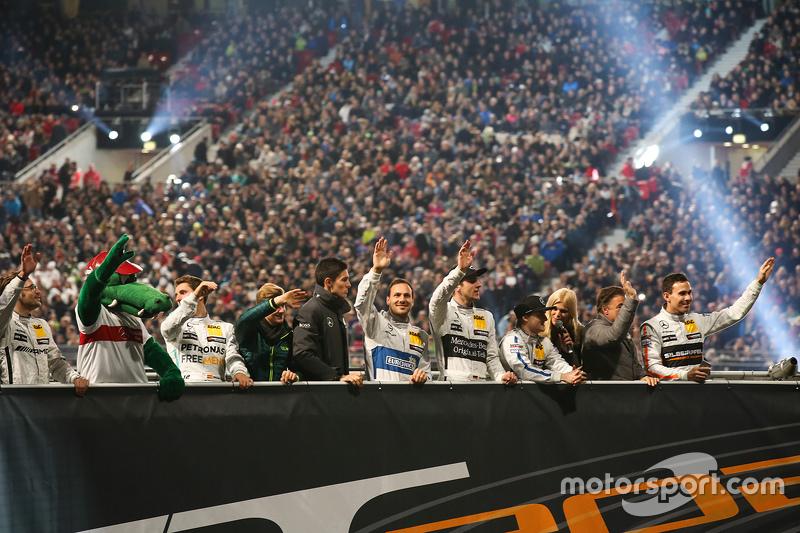 Pilotos da Mercedes Benz Arena