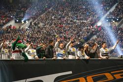Fahrer in der Mercedes-Benz Arena