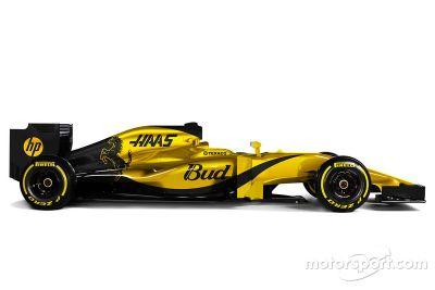 Haas F1 livrea di fantasia