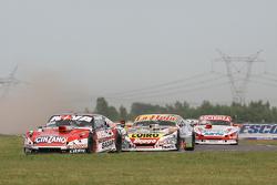 Matias Rossi, Donto Racing Chevrolet, Sergio Alaux, Coiro Dole Racing Chevrolet, Matias Jalaf, Catalan Magni Motorsport Ford