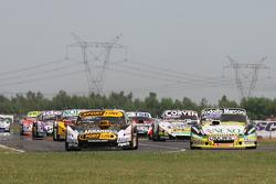 Leonel Pernia, Las Toscas Racing Chevrolet, Matias Rossi, Donto Racing Chevrolet, Juan Marcos Angelini, UR Racing Dodge