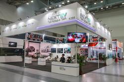 NEXTEV蔚来汽车中国国家赛车队展台