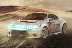 Han Solo, Millennium Falcon, Dodge Charger Hellcat
