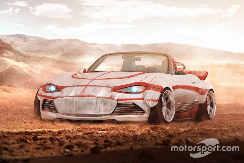 Luke Skywalker, Mazda MX-5 Land Speed edition