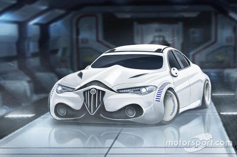 Alfa Romeo Giulia Stormtrooper edition