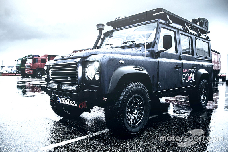 Red Bull Content Pool vehicle