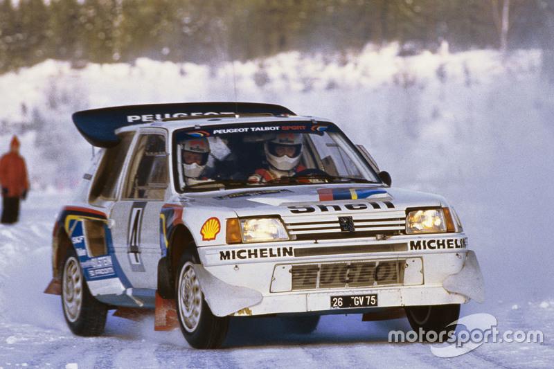 Ari Vatanen and Terry Harryman, Peugeot 205 T17