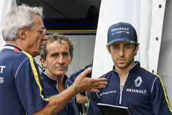 Jean-Paul Driot, Alain Prost and Nicolas Prost